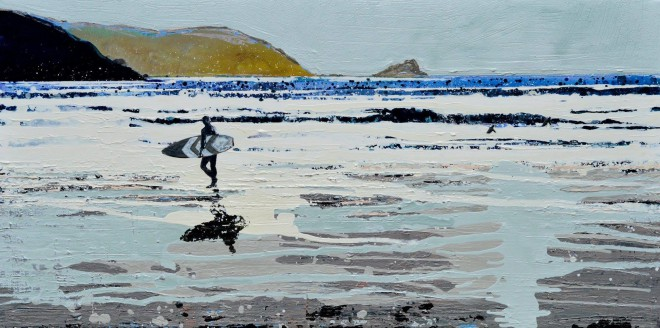 Fistral Beach, Newquay - the winter sea beckons. £1,395