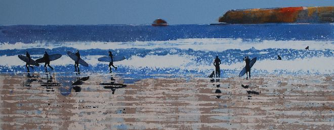 Paintings of Cornwall Cornish Art Cornwall by Melanie McDonald