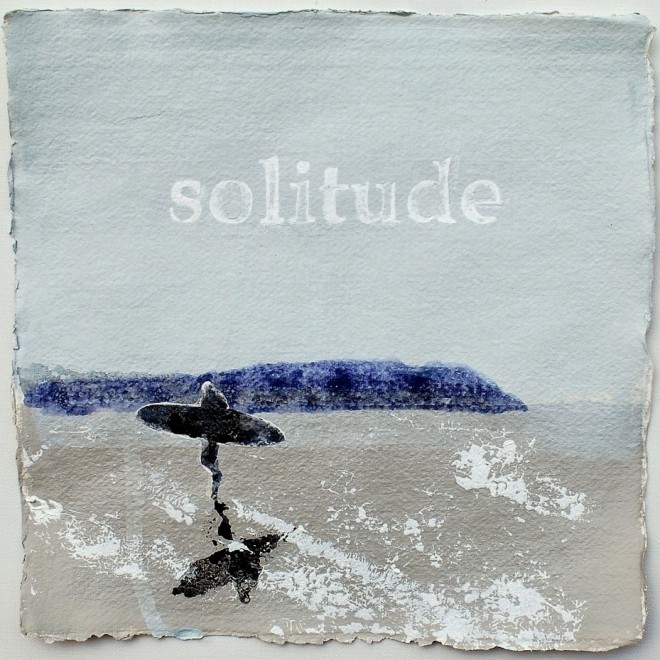Solitude and Salt Water, Polzeath £85