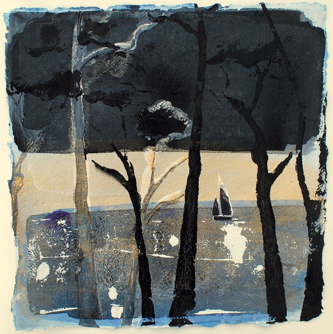 Through The Trees, sunset, St. Mawes, Cornwall £85