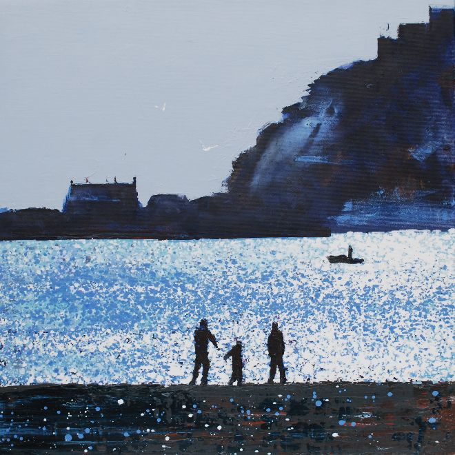Early Winter's Light, St .Michael's Mount, Cornwall.