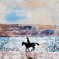 Riding into the Sun, Les Sables Blancs, Brittany. £795