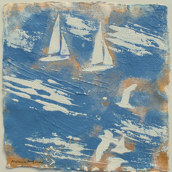 Gulls and boats, Bretagne £85