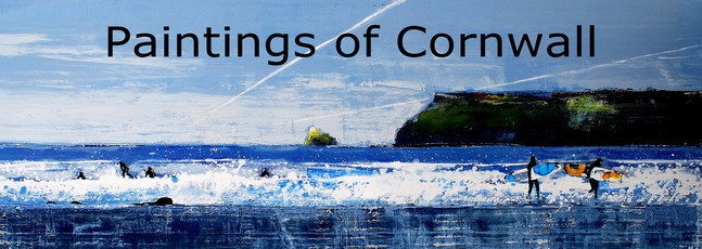 Paintings of Cornwall by Melanie McDonald