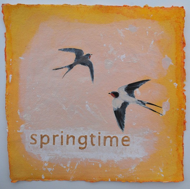 Springtime Swallows £85